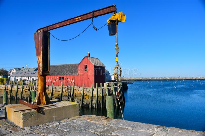 Rockport, NO1 de motif du Massachusetts - 5 de 7 photo stock