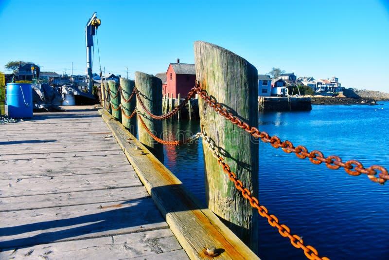 Rockport, NO1 de motif du Massachusetts - 7 de 7 images stock