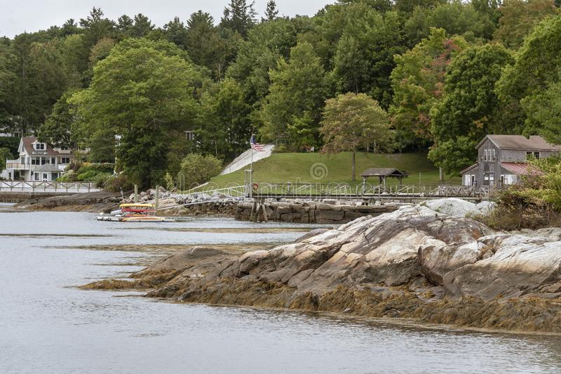 Rockport schronienia linia brzegowa obrazy royalty free