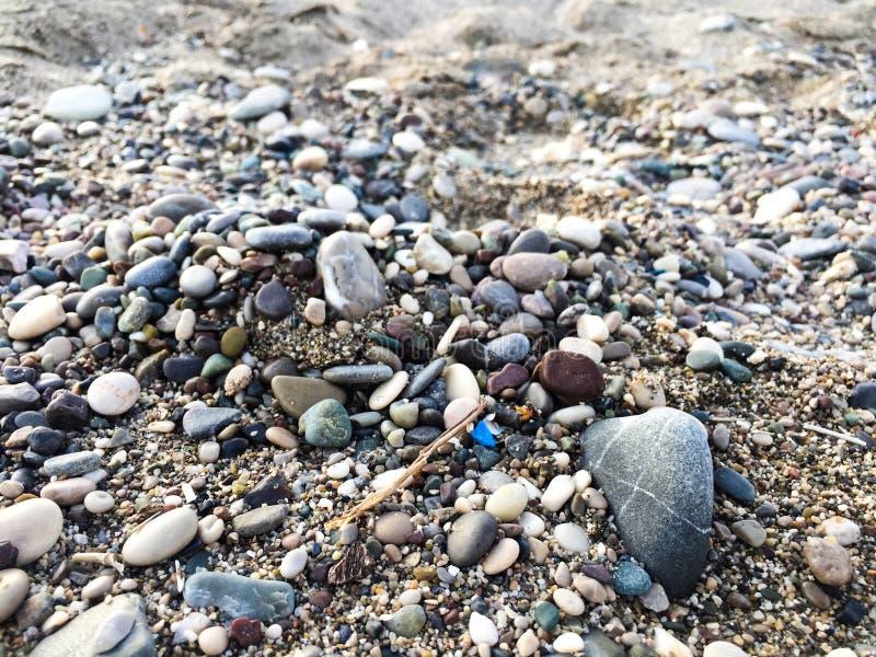Rocks on a beach royalty free stock photos