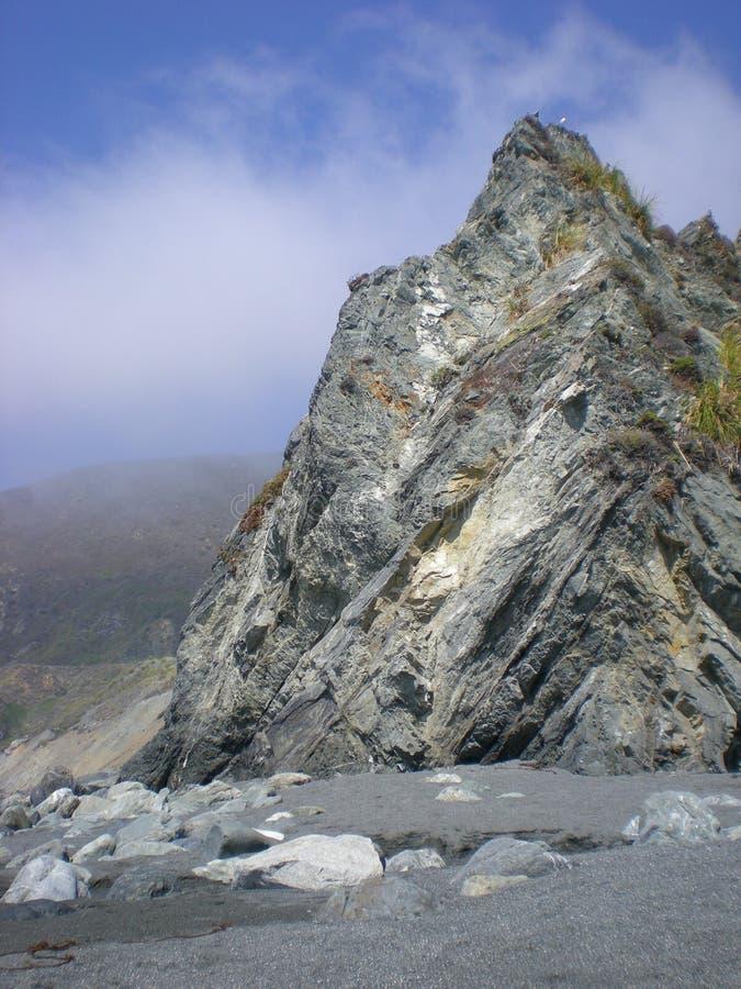 Rocks at Big Sur stock photo