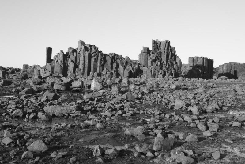 Rocks, Bombo - NSW - Australia stock image