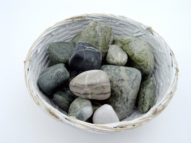 Download Rocks in Bowl stock image. Image of others, pebbles, bowl - 18803