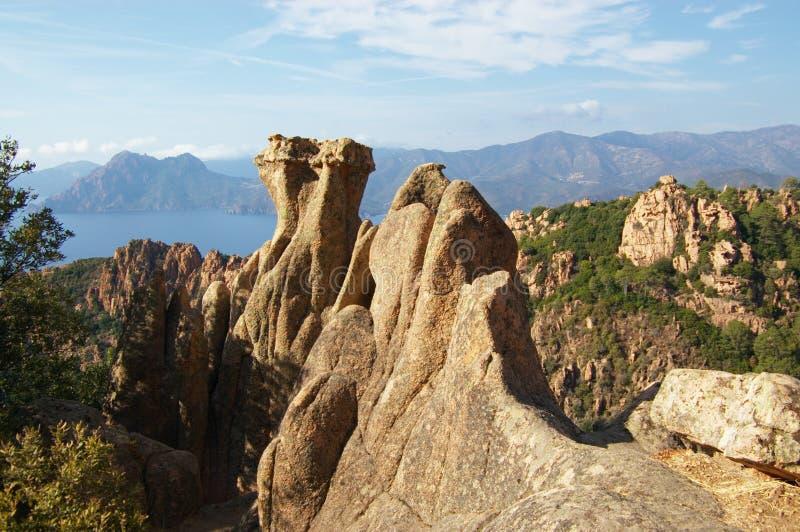 Download Rocks Of Calanche De Piana In Corsica Stock Image - Image: 11343837