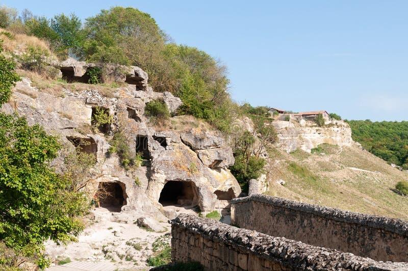 Rocks in de Krim royalty-vrije stock afbeelding