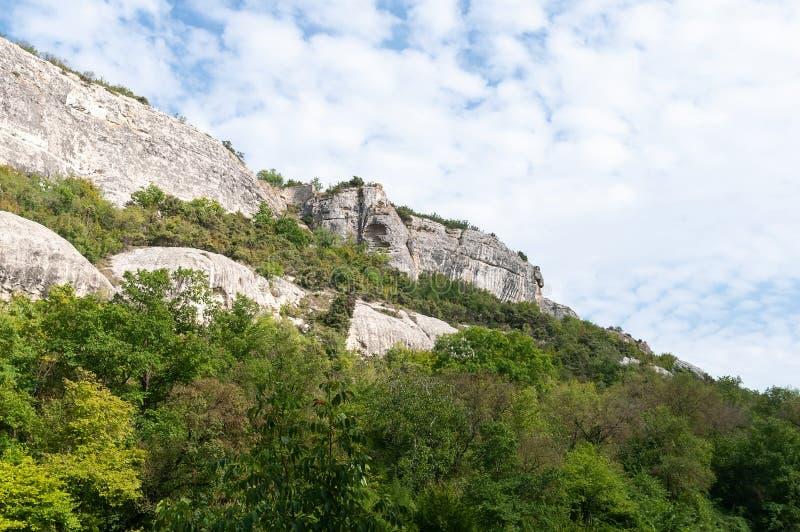 Rocks in de Krim royalty-vrije stock afbeeldingen