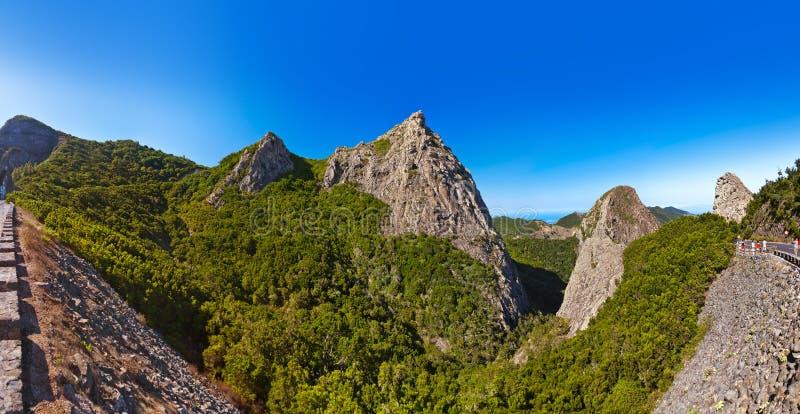 Rocks in La Gomera island - Canary. Spain stock photography