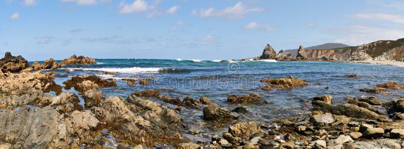 Rocks near the seaside. Costa da Morte. Ortigueira. Coruna. Spain stock photos