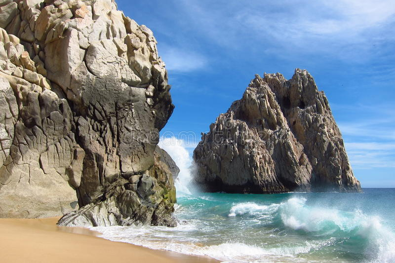 Download Rocks and the Ocean stock image. Image of rocks, vacation - 26254809