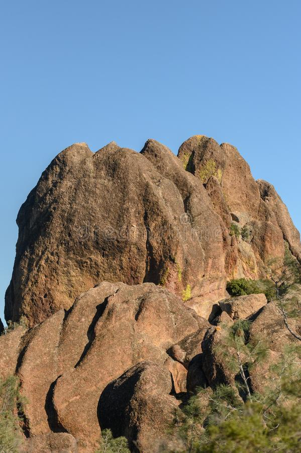 Rocks of Pinnacles royalty free stock image
