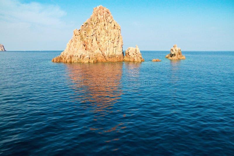 Scandola Nature Reserve, Corsica, France. Rocks of Scandola Nature Reserve, UNESCO World Heritage site, Corsica, France stock photo
