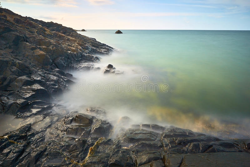 Rocks and Sea royalty free stock photos