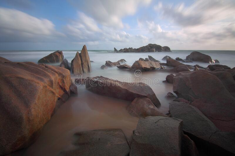 Rocks In Sea During Daytime Free Public Domain Cc0 Image