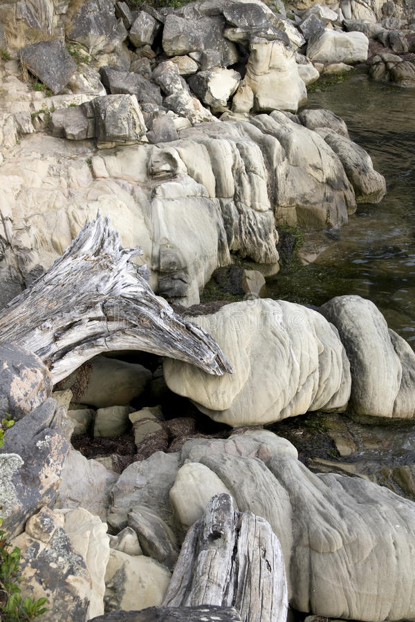 Download Rocks on shoreline stock photo. Image of park, rocks - 33023202