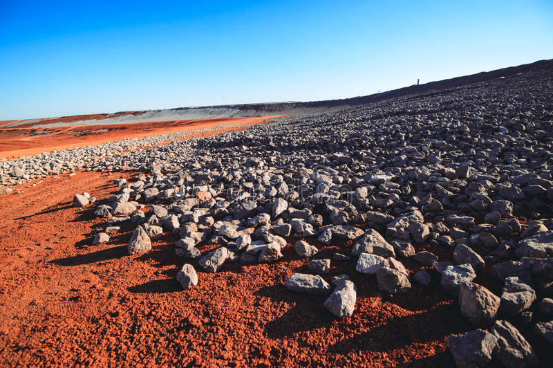Rocks and stones royalty free stock photography