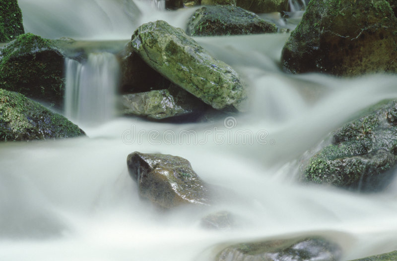 Rocks and water royalty free stock image