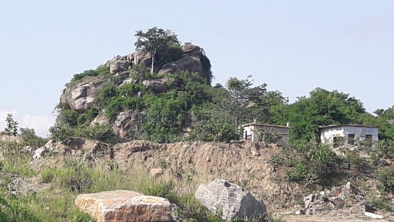 Rockshield stockbild