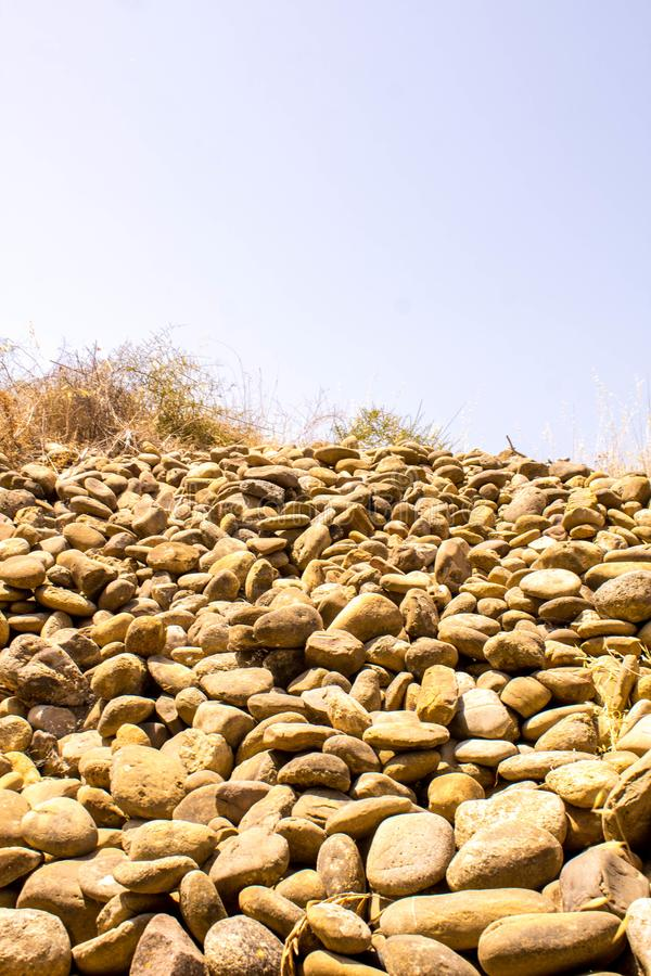 Rockslide lizenzfreie stockfotos