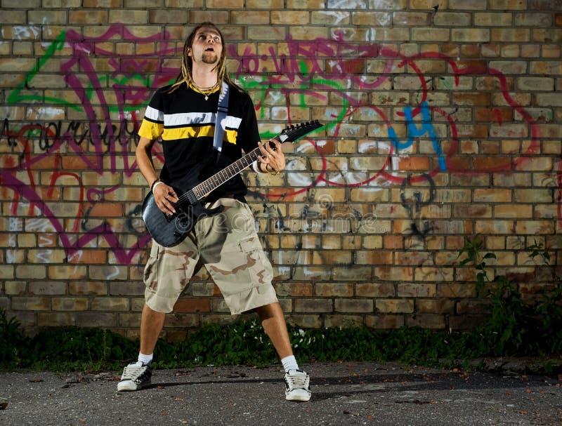 Rockstar. image libre de droits