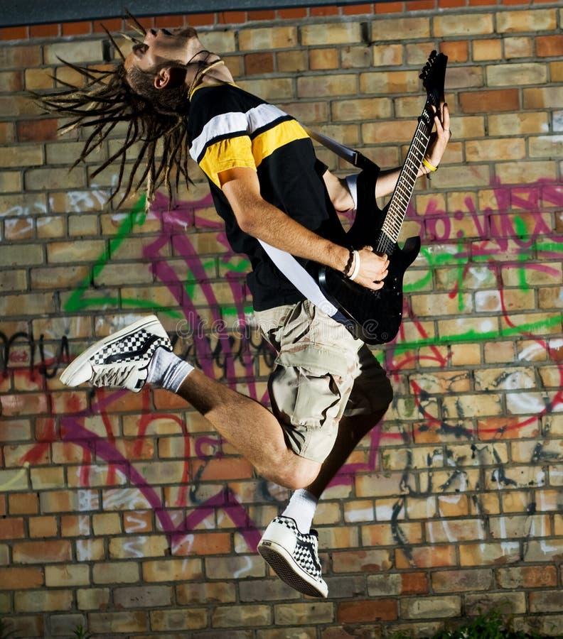 Rockstar. stock afbeeldingen