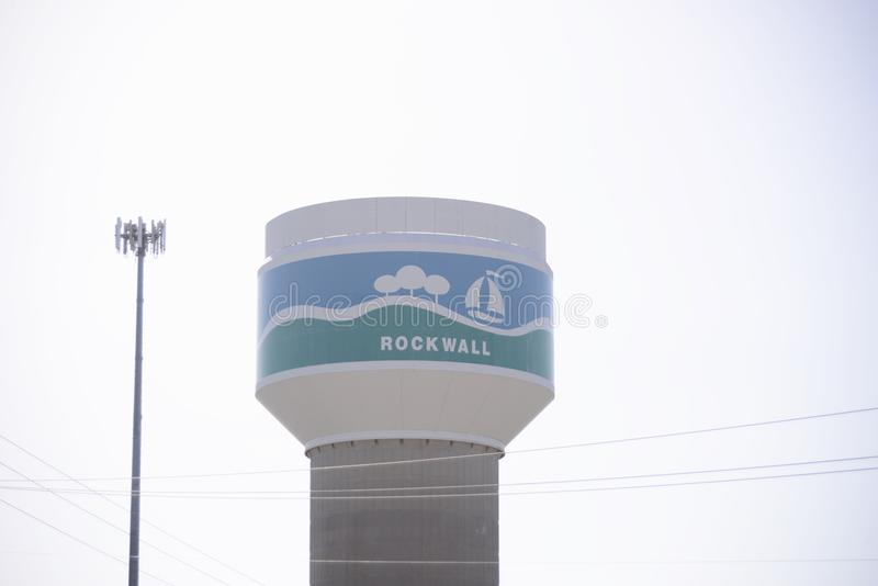 Rockwall Texas Water photographie stock libre de droits