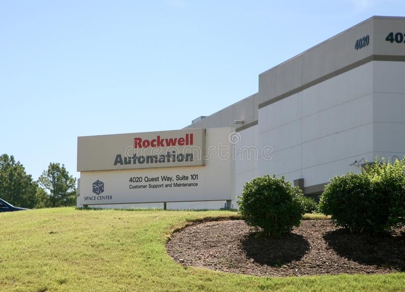 Rockwell Automation royaltyfria bilder