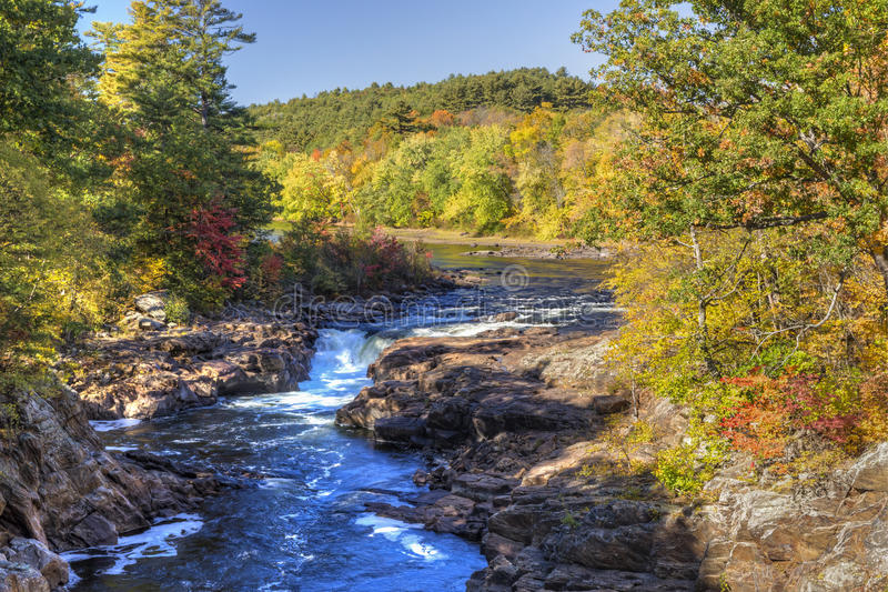 Rockwell cade sul Hudson fotografie stock libere da diritti
