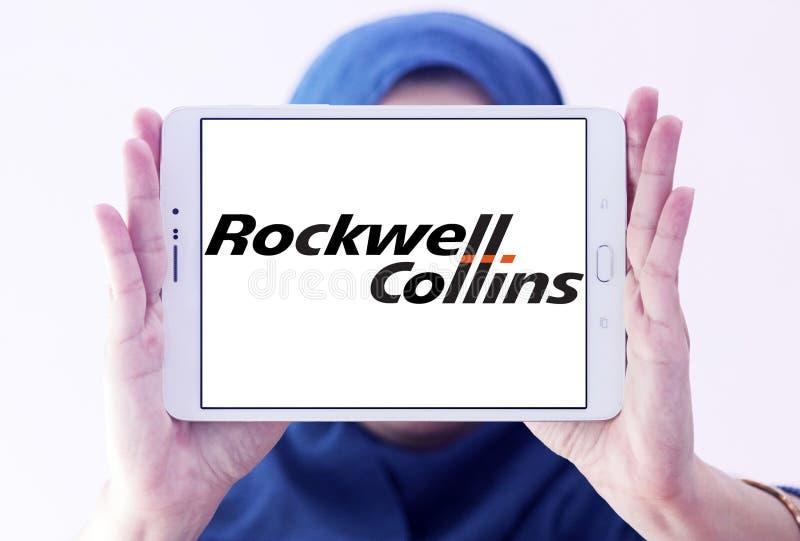 Rockwell Collins företagslogo fotografering för bildbyråer