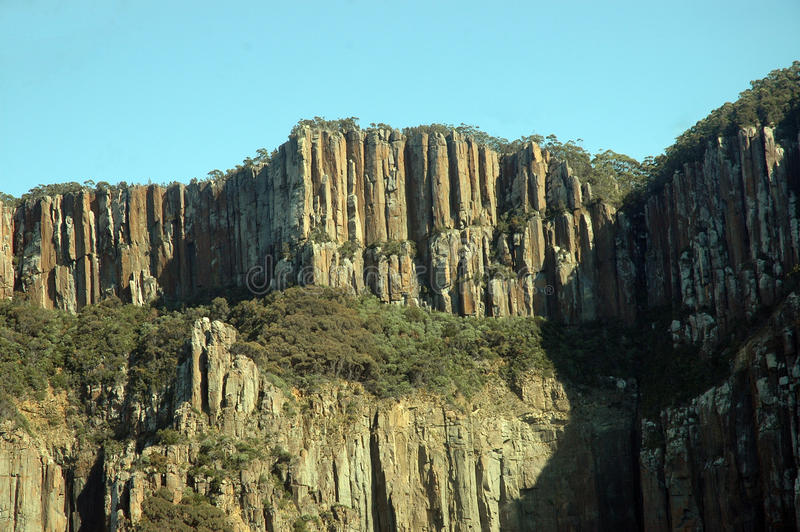 Rocky. Rocky rugged South Cost of Tasmania Australia royalty free stock photography