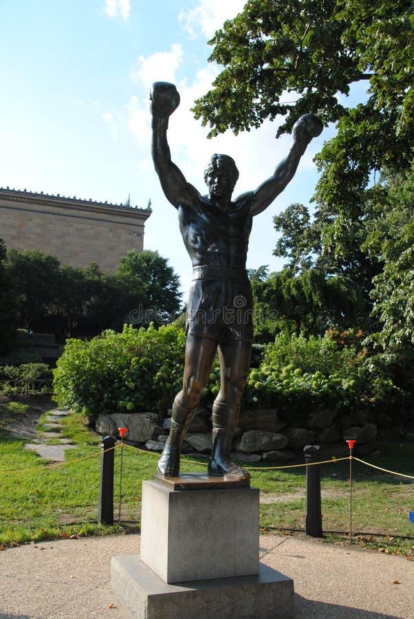 Rocky Balboa Monument fotografia stock libera da diritti
