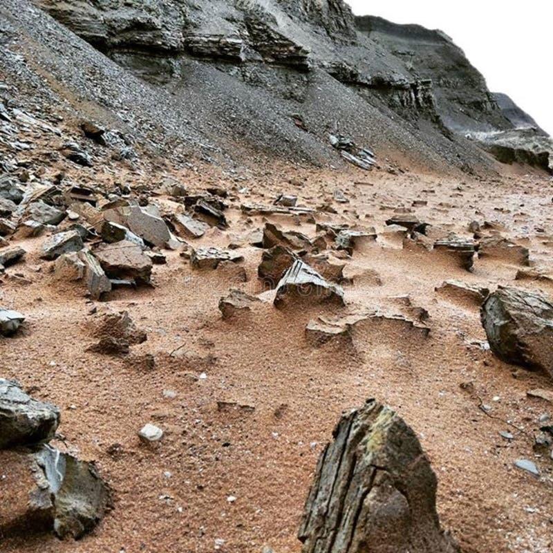 Rocky Barren Mountain royalty free stock image