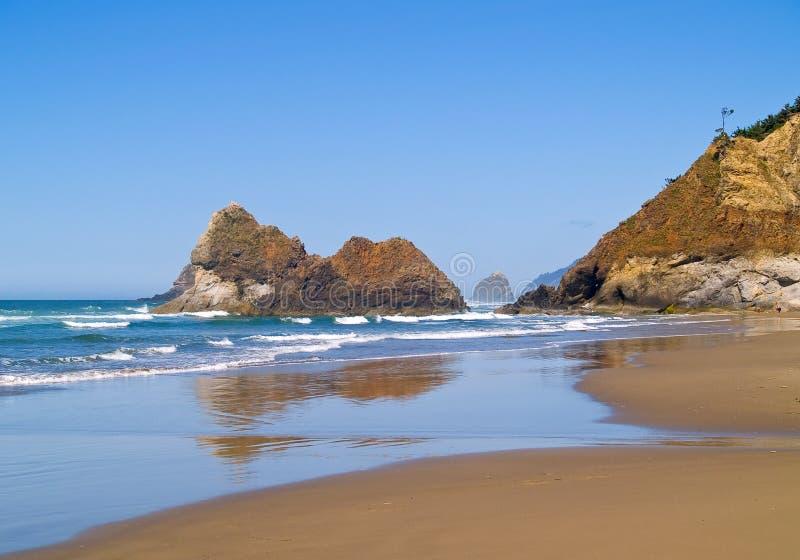 Rocky Beach áspero fotos de stock royalty free