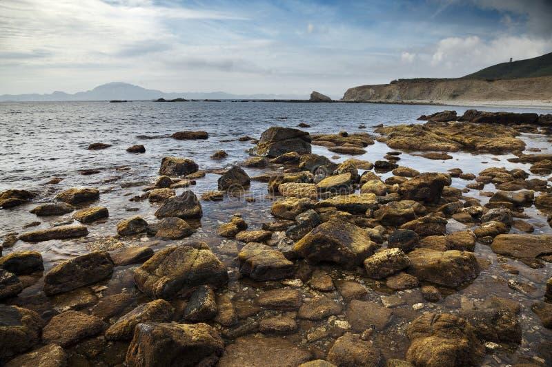 Download Rocky beach stock image. Image of clean, horizon, sunrise - 17217701