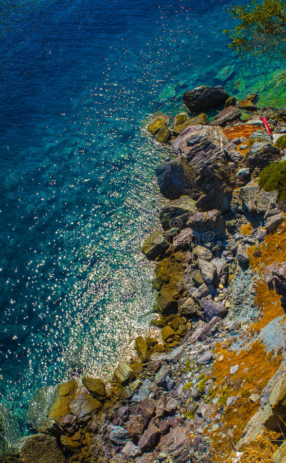 Download Rocky beach stock image. Image of nature, beautiful, detail - 35197215
