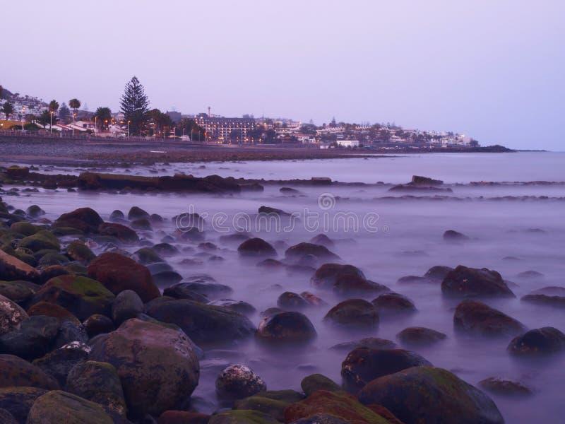 Download Rocky Beach Sunset stock photo. Image of ocean, season - 25643146