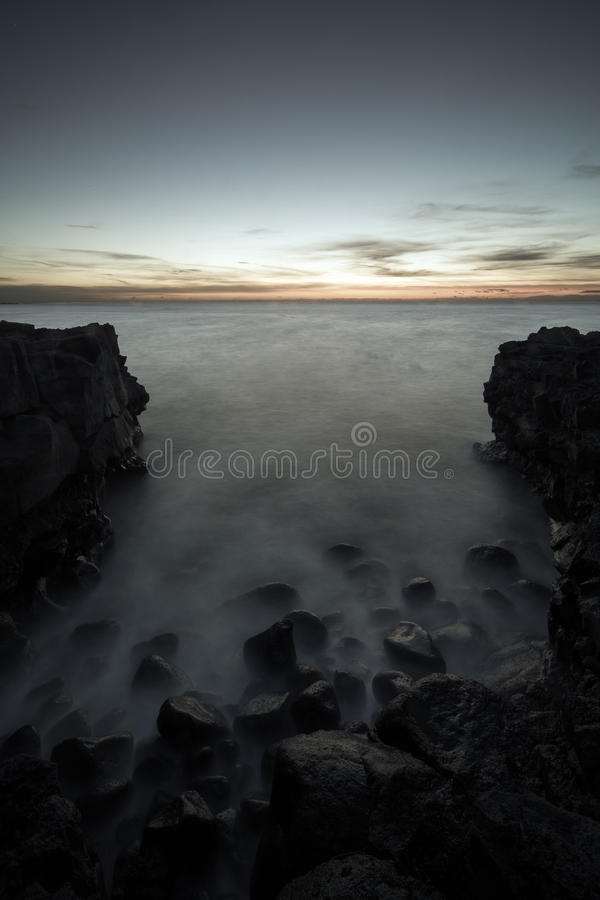 Download A rocky beach stock photo. Image of 14mm, late, iceland - 30437020