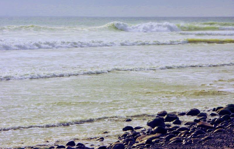 Rocky Beach Ventura, CA royaltyfria bilder