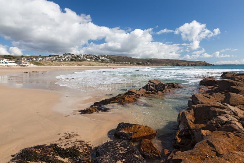 Praa Sands Cornwall England royalty free stock photography