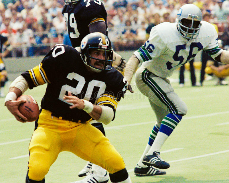 Rocky Bleier Pittsburgh Steelers imágenes de archivo libres de regalías