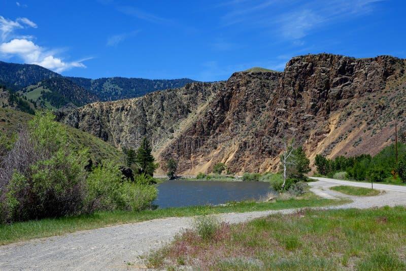 Rocky Cliffs - Idaho fotografía de archivo libre de regalías