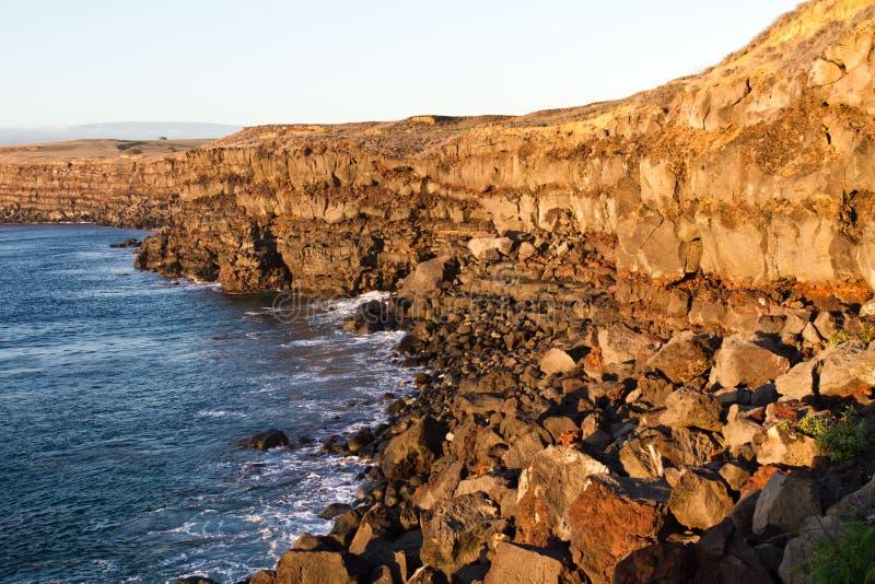 Rocky Cliffs no parque sul do ponto na ilha grande fotos de stock