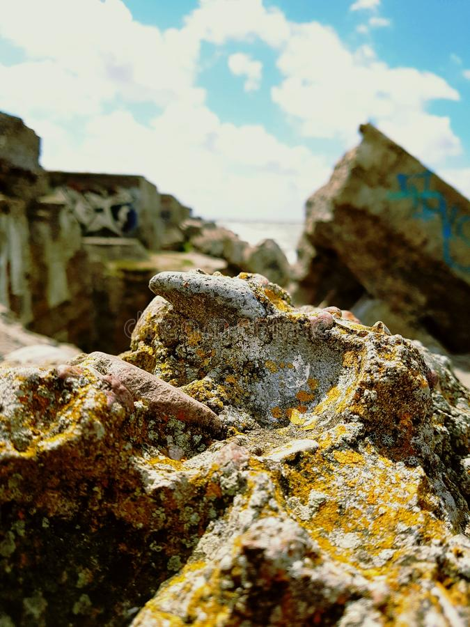 Rocky cloud stock images