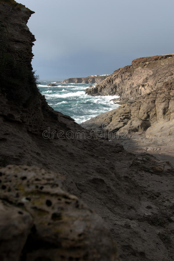 Download Rocky Coast Royalty Free Stock Photo - Image: 12847825