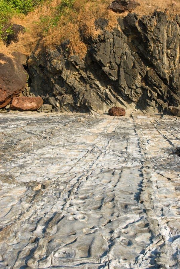 Download Rocky Coast Of Arabian Sea In Goa Stock Image - Image: 22403657