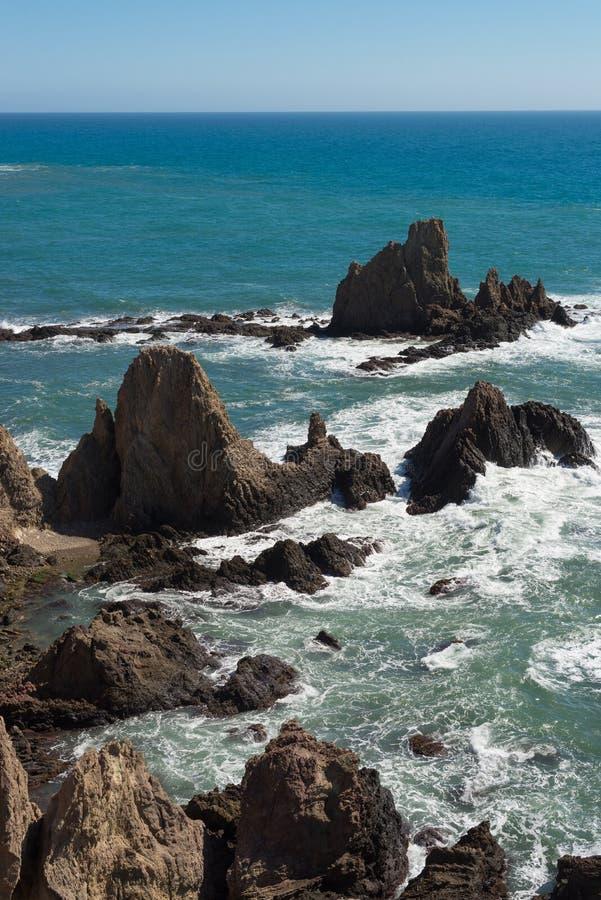Rocky coast stock photos