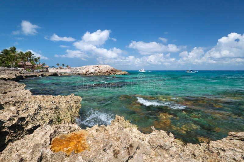 Download Rocky Coast Of Caribbean Sea Stock Photo - Image: 22237264