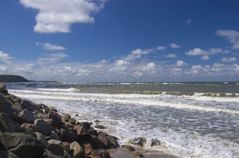 Rocky Coast di Seaside fotografie stock