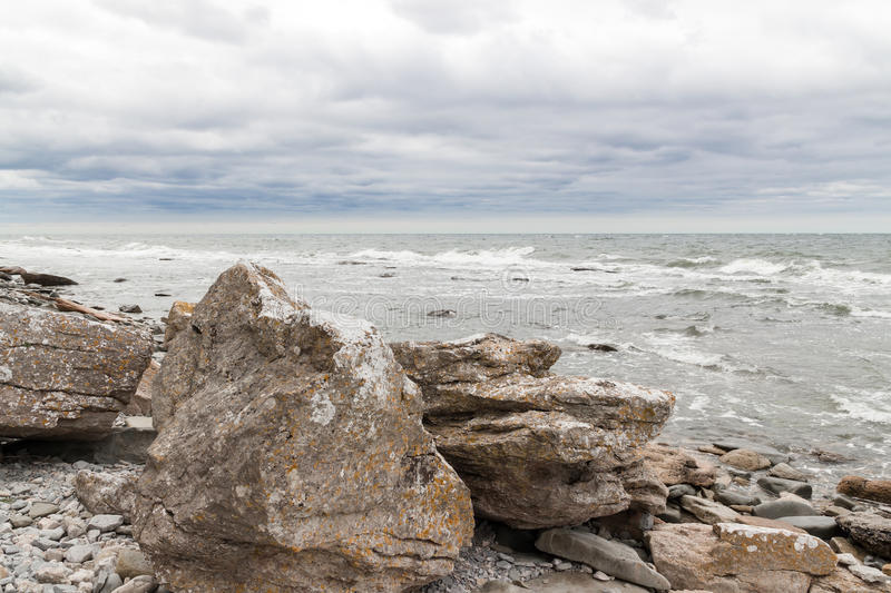Download Rocky Coast Of Gotland, Sweden Royalty Free Stock Photo - Image: 34327245