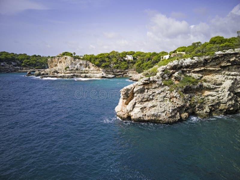 Rocky coast of Mallorca stock photos