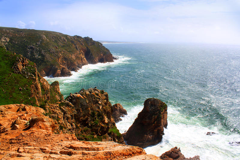Cabo Da Roca, Portugal stock photo